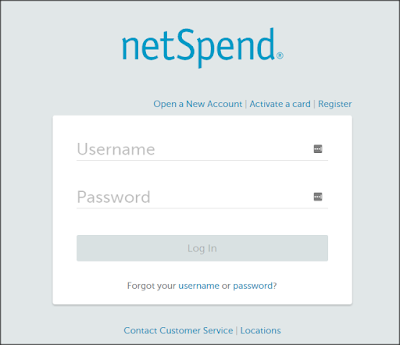 Netspend Login @www.Netspend.com